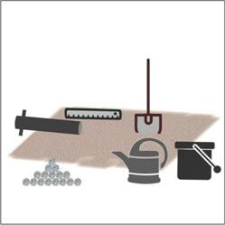 Bodenhülse einbetonieren Materialien