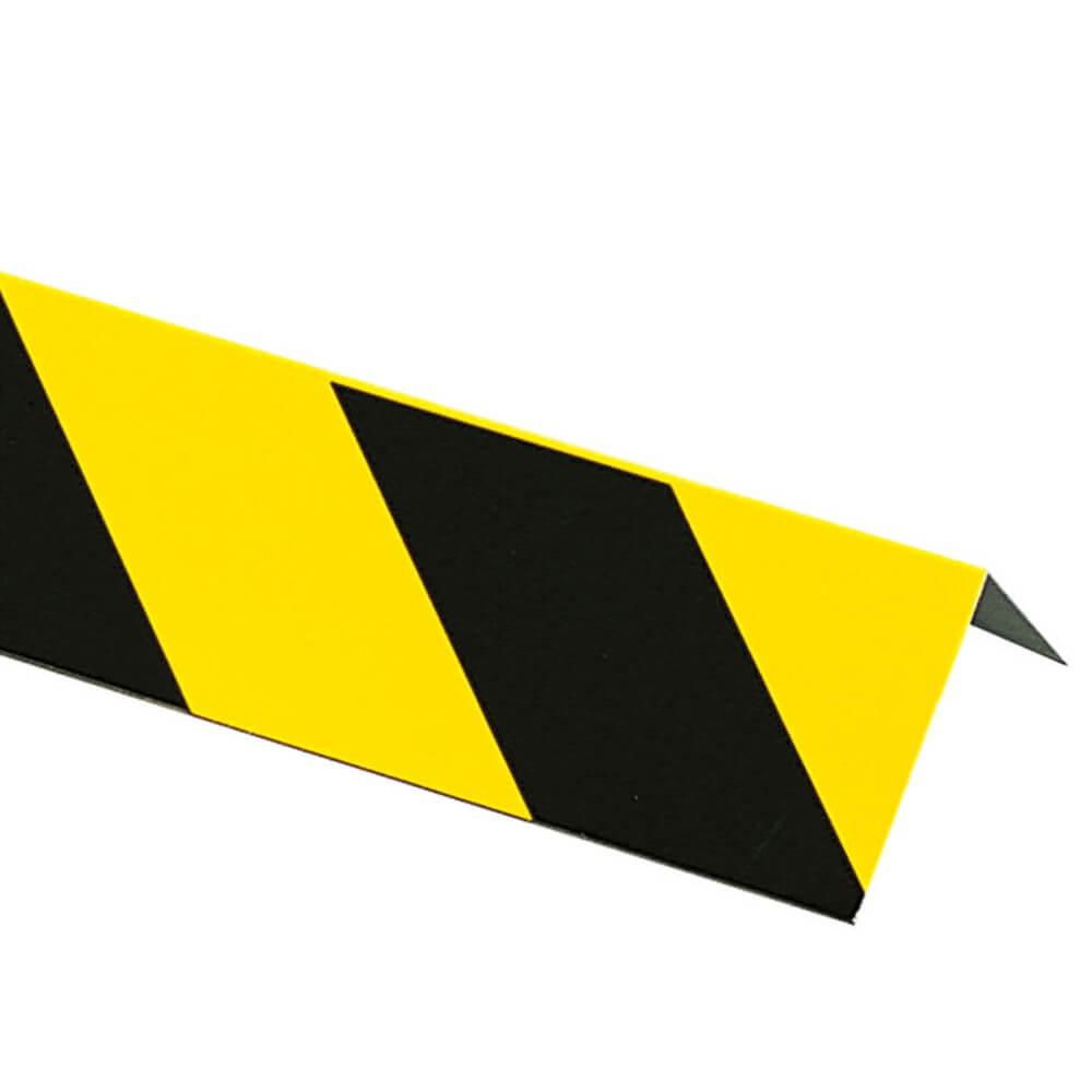 552d7b271e3a90 Winkelmarkierung, gelb/schwarz, Aluminium, 10 x 99 cm