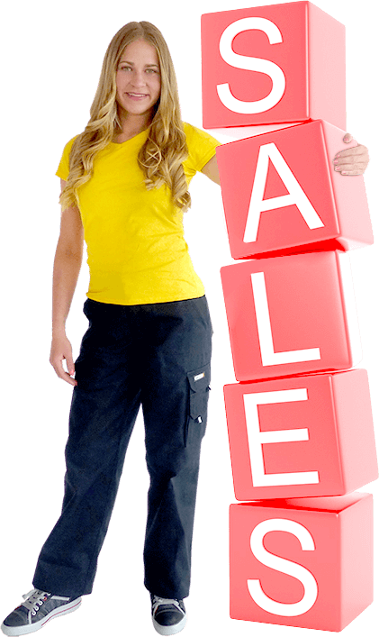 Sale Banner Seite