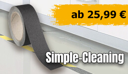 Antirutschbelag Simple-Cleaning