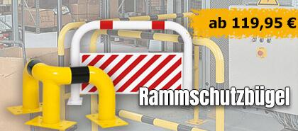 TÜV-geprüfte und zertifizierte Rammschutzbügel