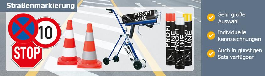 Straßenmarkierung in Markenqualität