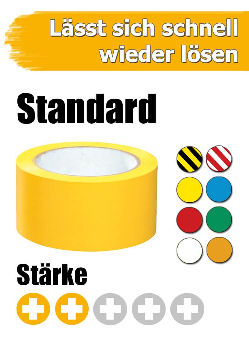 Bodenmarkierungsband Standard