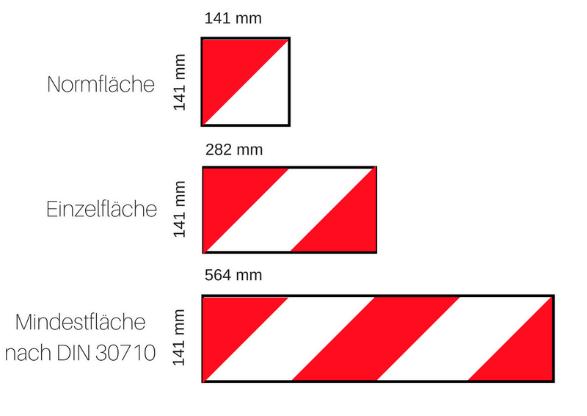 Flaechen Fahrzeugmarkierung