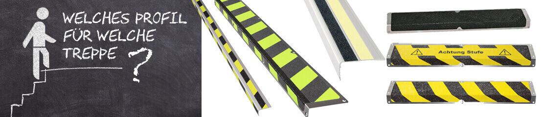 Welches Treppenkantenprofil brauchen Sie